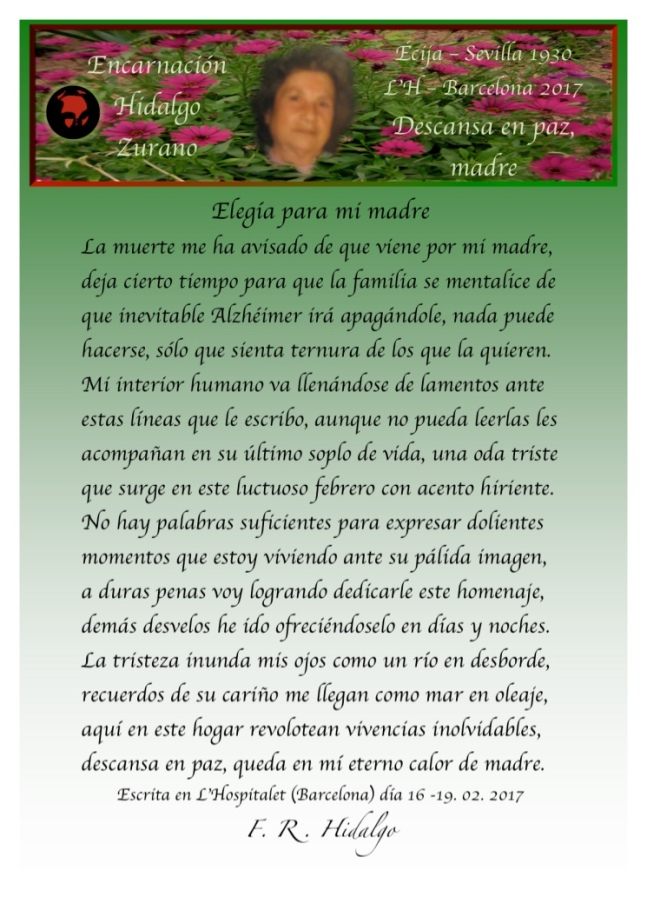 F. R . Hidalgo Elegía para mi Madre .jpg