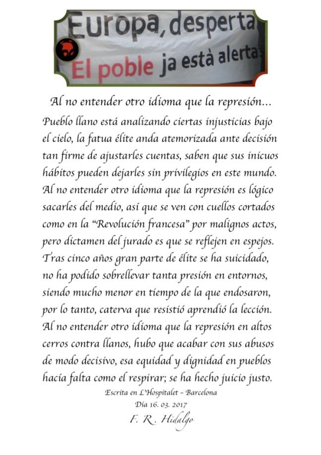 F. R . Hidalgo Al no entender otro idioma que la represión... .jpg