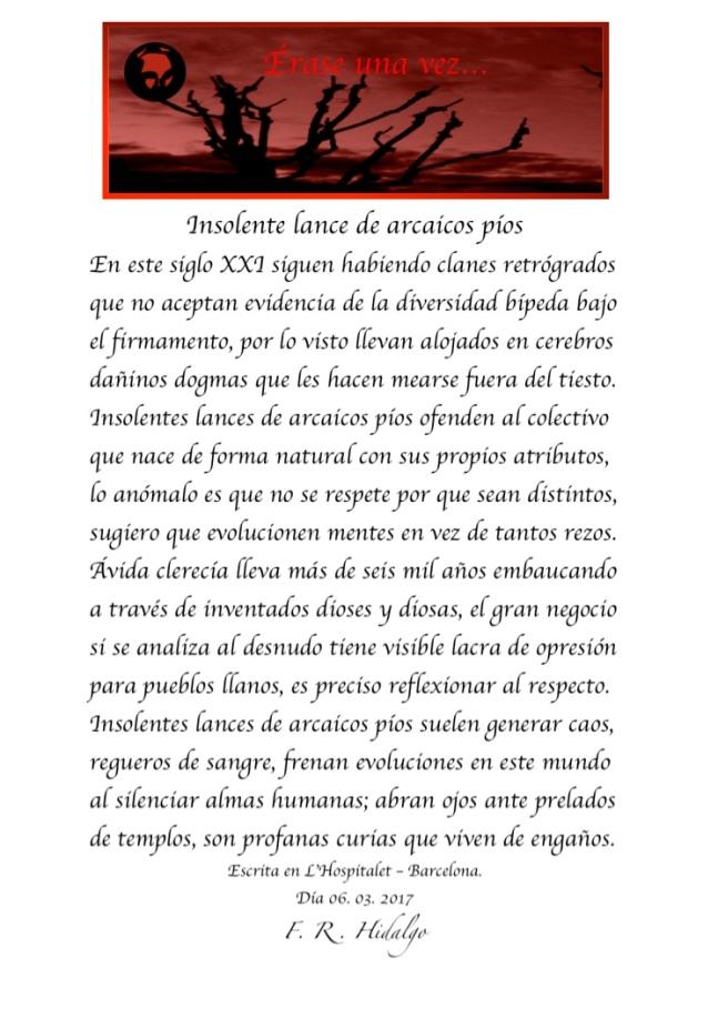 F. R . Hidalgo Insolentes lances de arcaicos píos .jpg