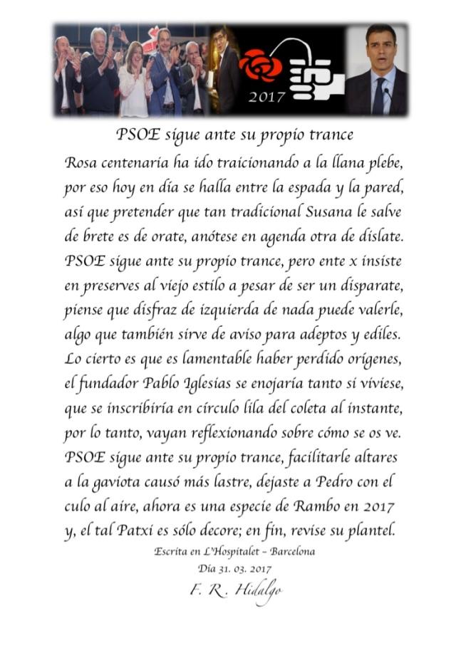 F. R . Hidalgo PSOE sigue ante sus propio trance .jpg
