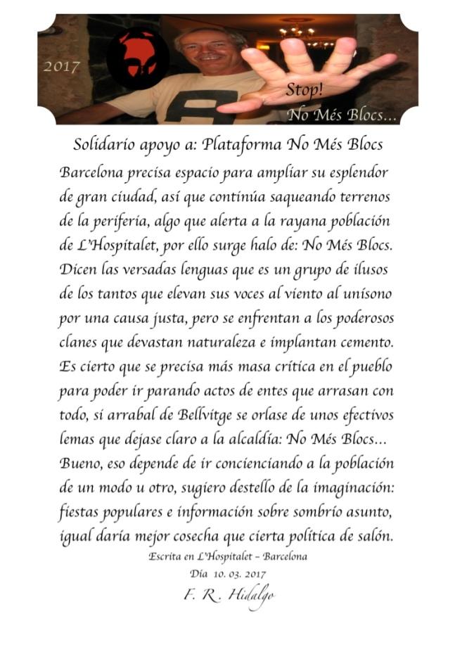 F. R . Hidalgo Solidario apoyo a- Plataforma No Més Blocs .jpg