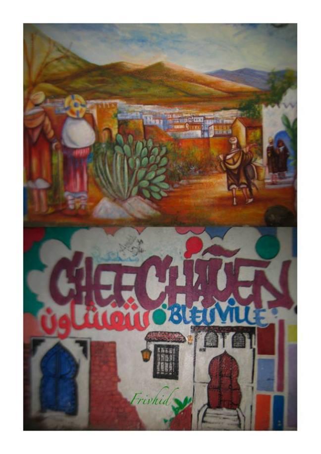 El arte está en  calles de Chauen .jpg