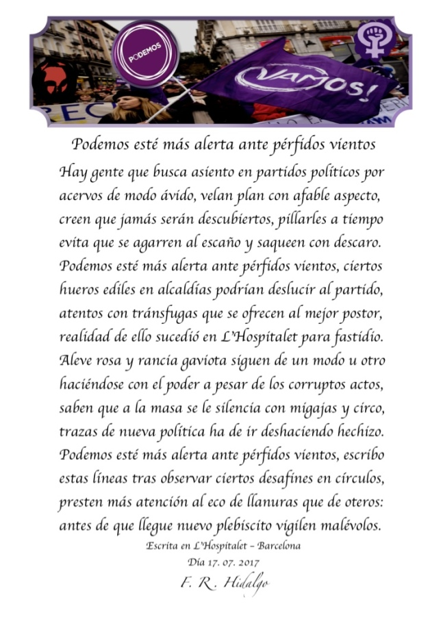 F. R . Hidalgo Podemos esté más alerta ante pérfidos vientos .jpg