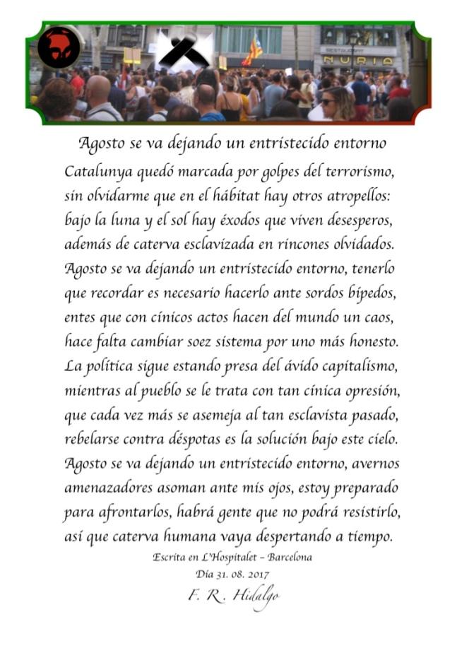 F. R . Hidalgo Agosto se van dejando un entristecido entoerno .jpg