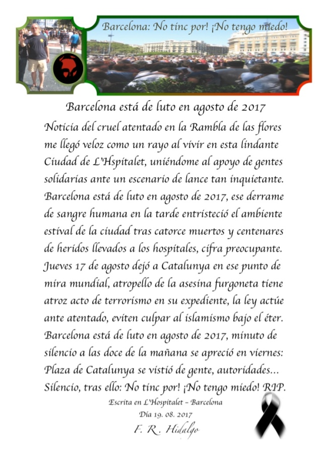F. R . Hidalgo Barcelona está de luto en agosto de 2017 .jpg