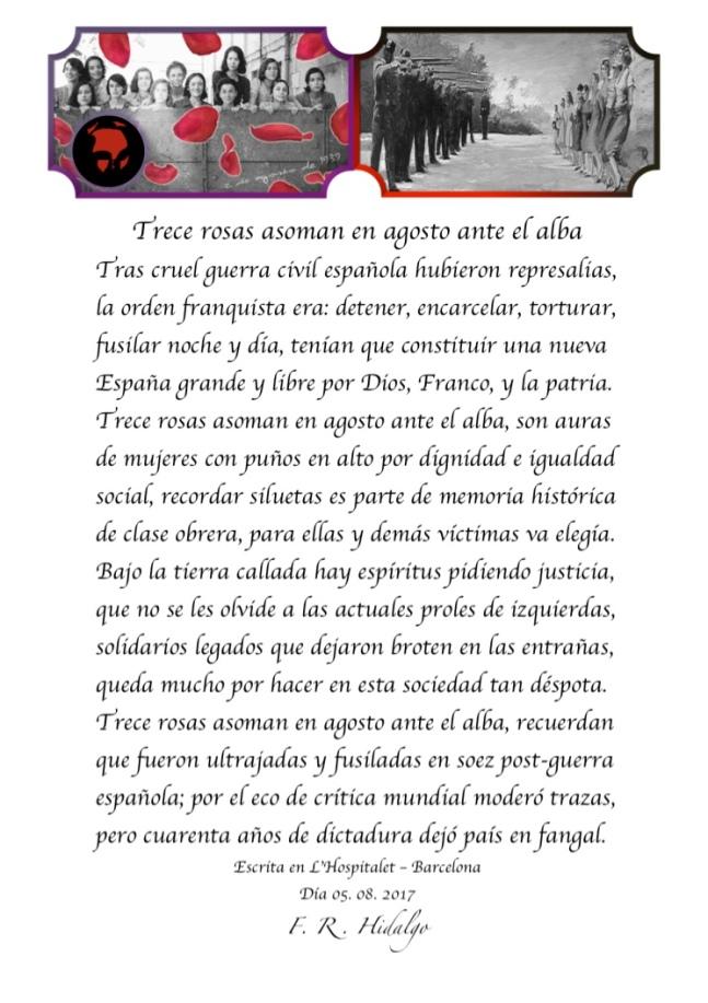 F. R . Hidalgo Trece rosas asoman en agosto ante el alba .jpg